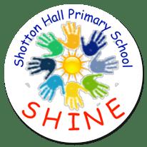 Shotton Hall Primary School SHINE logo
