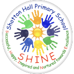 Shotton Hall Primary School SHINE logo